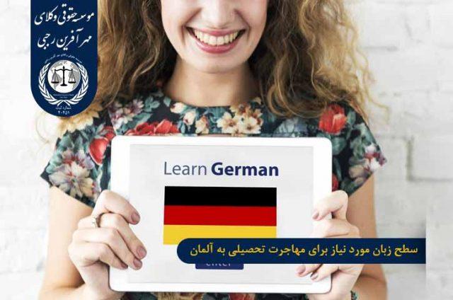 سطح زبان برای مهاجرت تحصیلی به آلمان