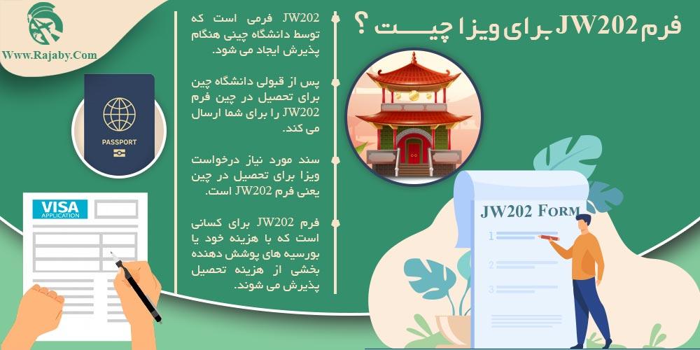 فرم JW202 برای ویزا چیست؟