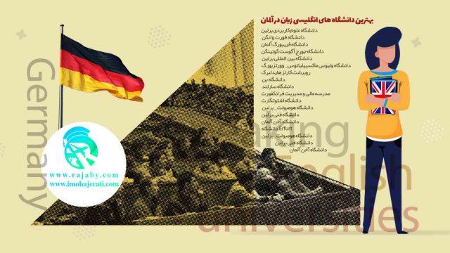 برخی دانشگاه های انگلیسی زبان در آلمان
