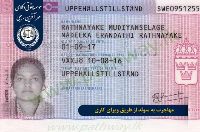 مهاجرت از طریق ویزای کاری به سوئد