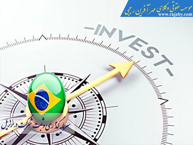 سرمایه گذاری و ثبت شرکت در برزیل