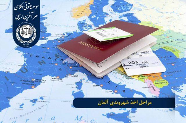 مراحل اخذ شهروندی آلمان