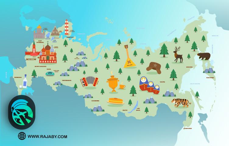 شهرهای مهم روسیه برای مهاجرت