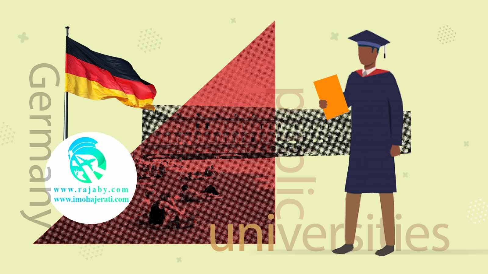 دانشگاه های دولتی آلمان