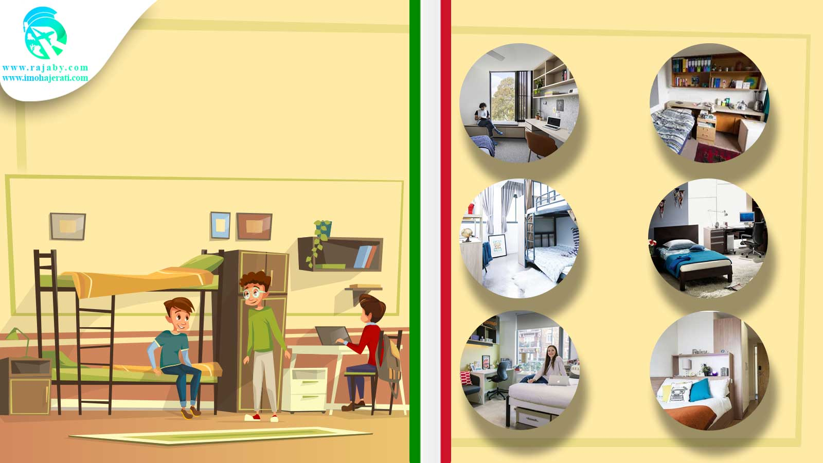 خوابگاه های دانشجویی کشور ایتالیا