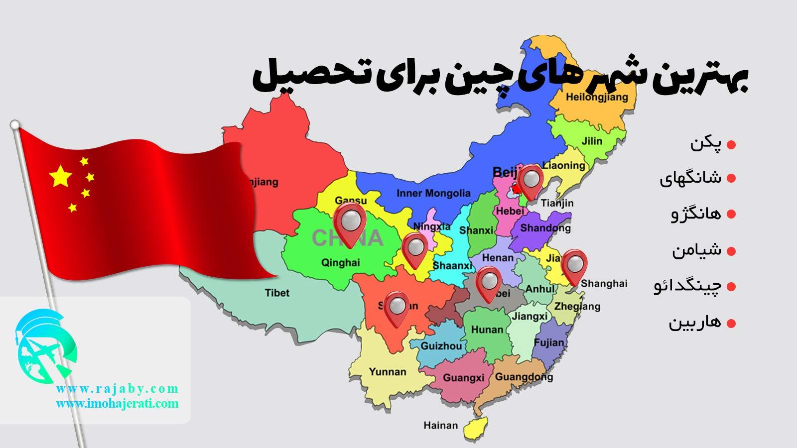 بهترین شهر های چین برای تحصیل