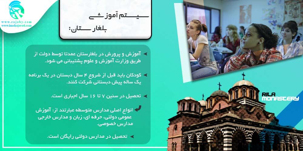 سیستم آموزشی بلغارستان