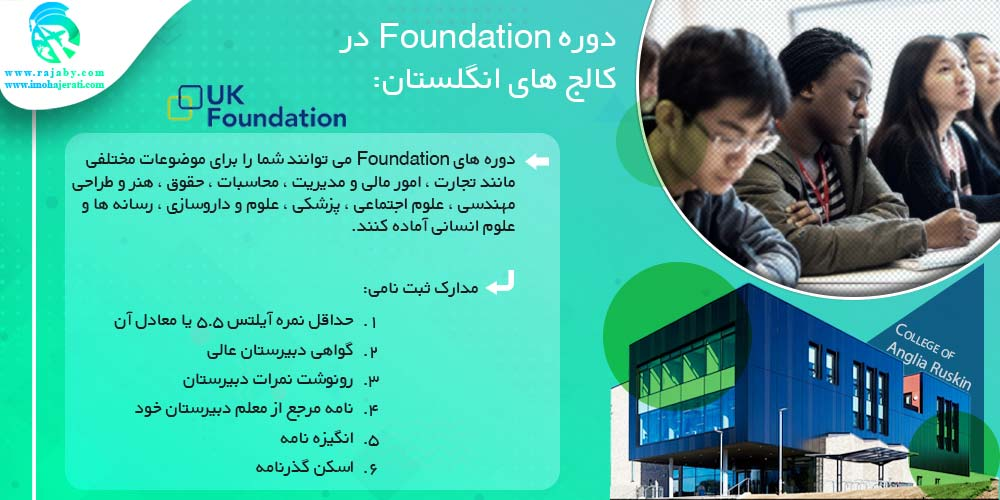 دوره Foundation در کالج ها