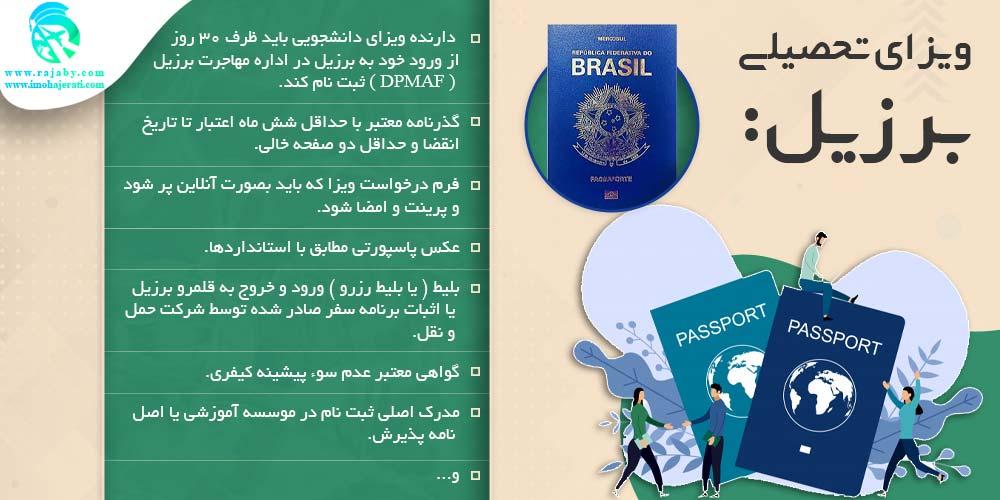 ویزای تحصیلی برزیل