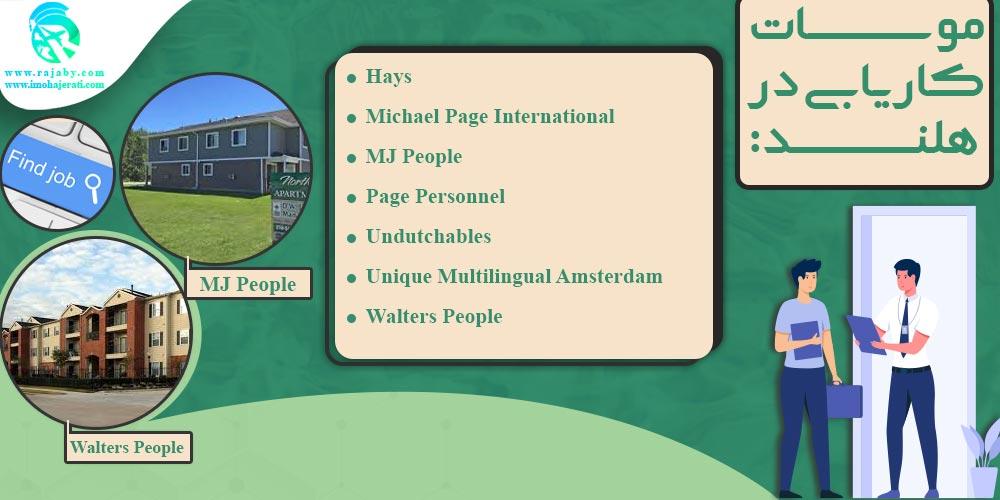 موسسات کاریابی در هلند