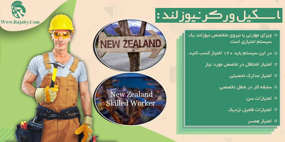 اسکیل ورکر نیوزلند