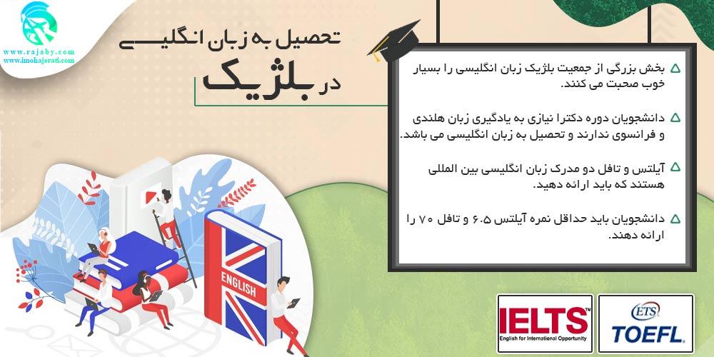 تحصیل به زبان انگلیسی در بلژیک