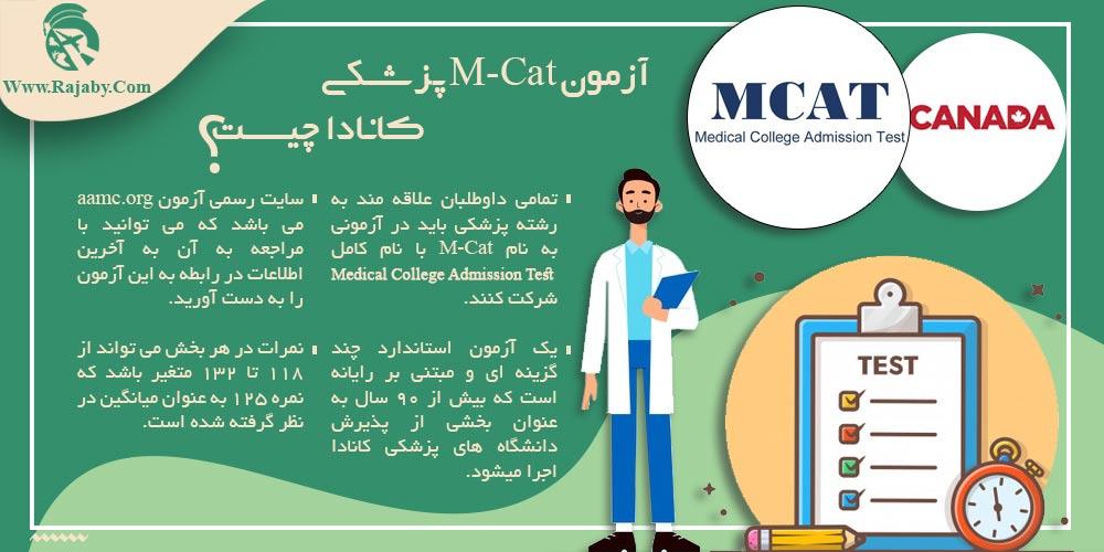 آزمون M-Cat پزشکی کانادا چیست