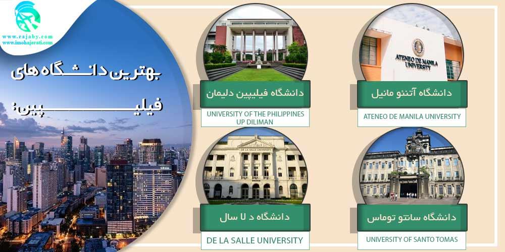 بهترین دانشگاه های فیلیپین