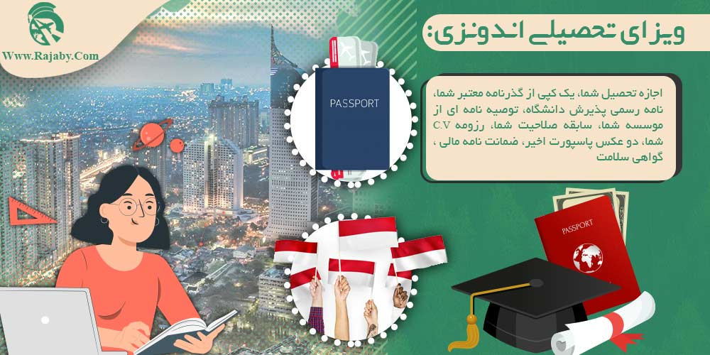 ویزای تحصیلی اندونزی