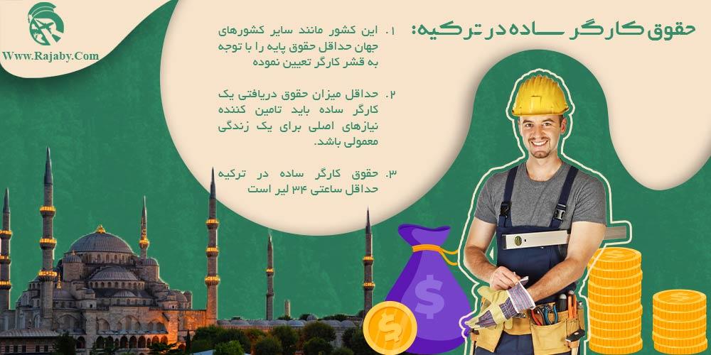 حقوق کارگر ساده در ترکیه