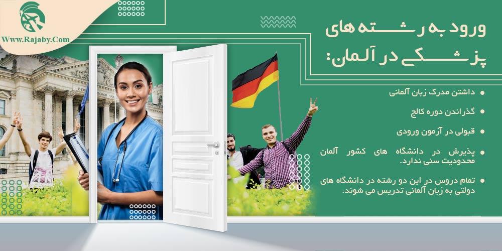 ورود به رشته های پزشکی در آلمان