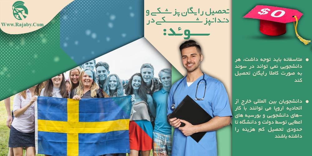 تحصیل رایگان پزشکی و دندانپزشکی در سوئد