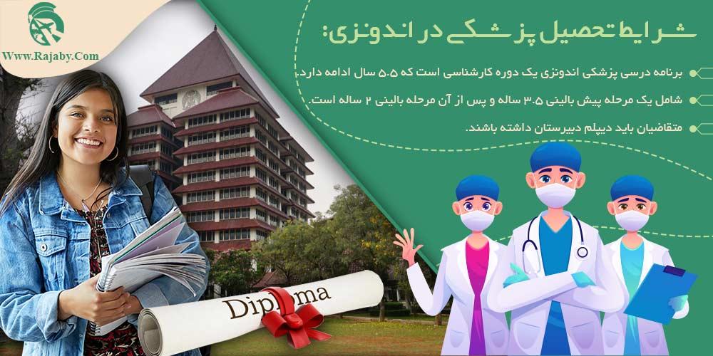 شرایط تحصیل پزشکی در اندونزی
