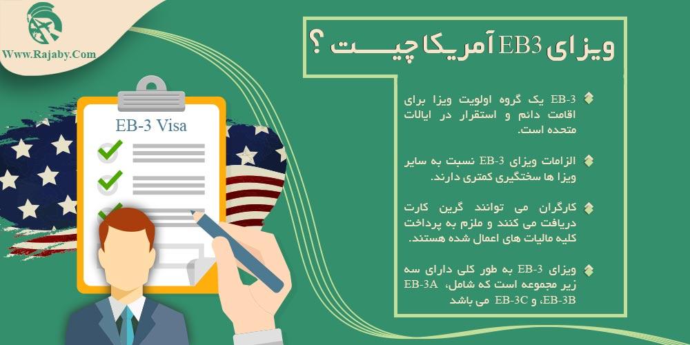 ویزای EB3 آمریکا چیست؟
