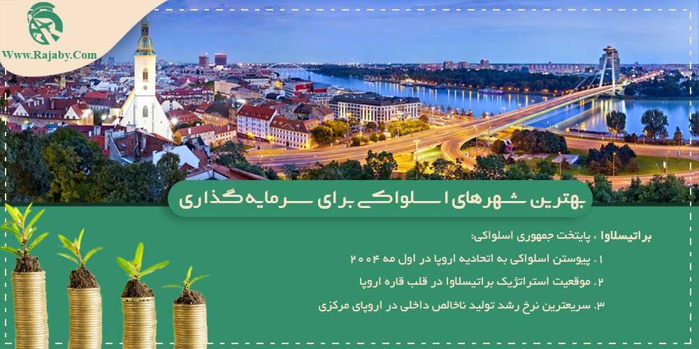 بهترین شهرهای اسلواکی برای سرمایه گذاری