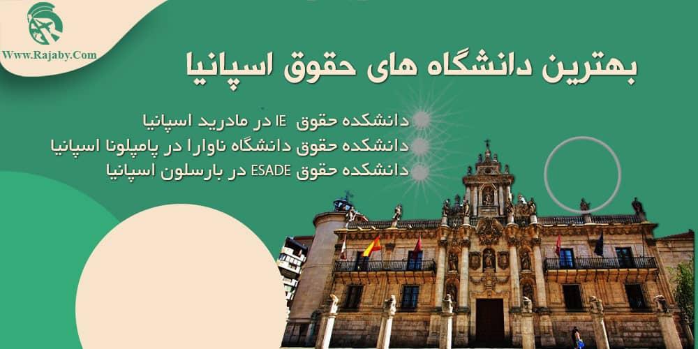 بهترین دانشگاه های حقوق اسپانیا